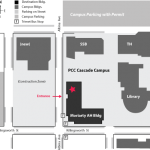 Cascade PCC Campus Map, Moriarty Arts and Humanities Building, Auditorium
